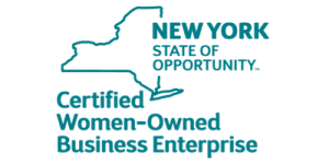 NYS Certified Woman Owned Business Enterprise