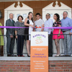 Westchester Marketing Cafe ribbon cutting ceremony