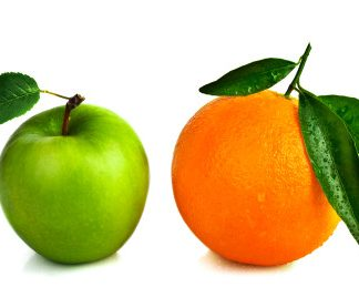 apple vs orange