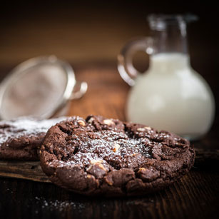 image of a chocolate cookie