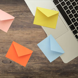 email list segmentation from laptop