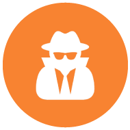 icon of security agent